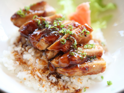 Le poulet teriyaki
